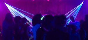 sweet sixteen club theme lighting