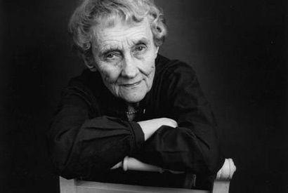 Author Astrid Lindgren who wrote Pippi Longstocking