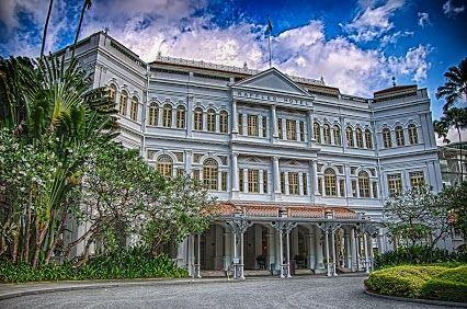 Raffles Hotel Singapore #RafflesHotel #Singapore