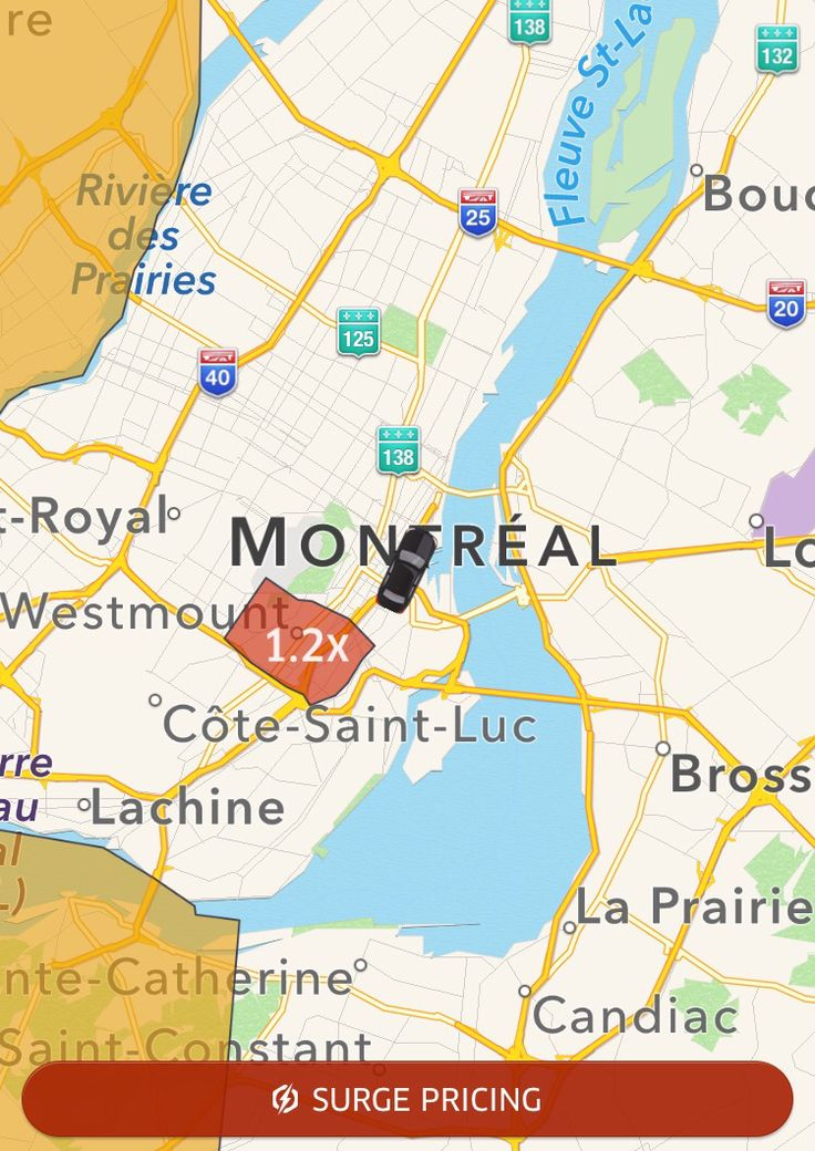 Uber Montreal  Price surges in Montreal  Uber Promo code kv702 Uber