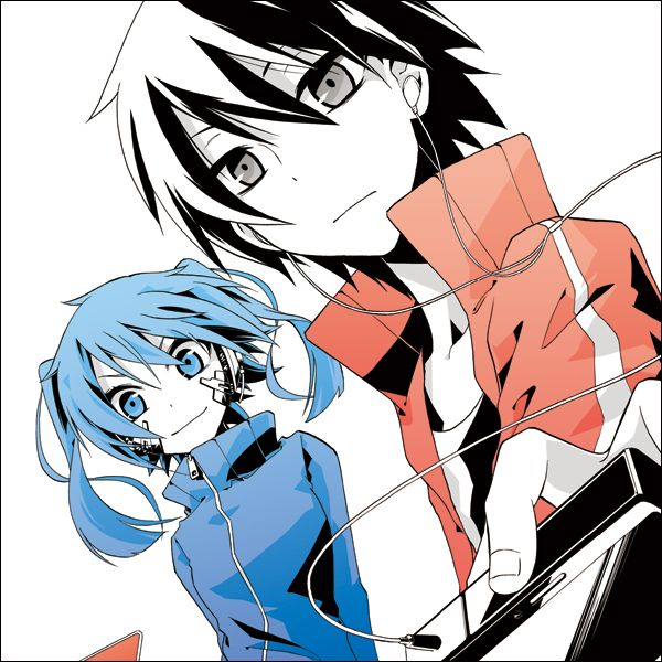"""[FREE MANGA!] Kagerou Daze - This story takes place on the 14th and 15th of August. The shut-in young boy named Shintaro together with the Cyber Girl Ene leave the house for the first time in two years only to be caught up in an outlandish """"incident"""".....? """""""