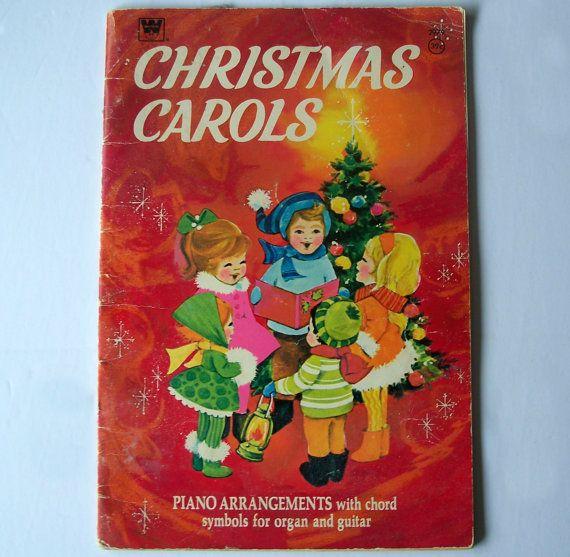 Whitman Christmas Carols Piano Arrangements  by MargsMostlyVintage
