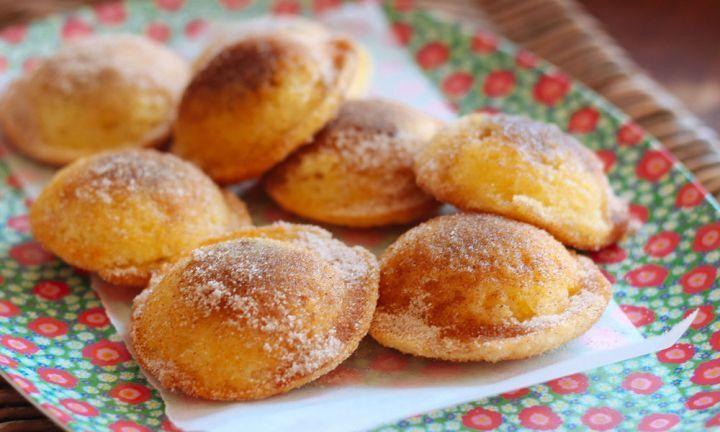Baked cinnamon doughnuts with Nutella filling - Kidspot