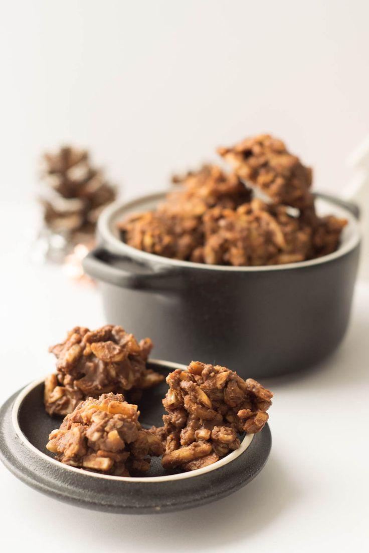 Super lecker - die Mandelsplitter schmecken nach Weihnachten dank der Zugabe von leckerem Lebkuchen Gewürz