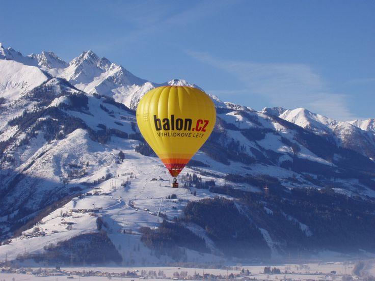 Balon.cz v Alpách