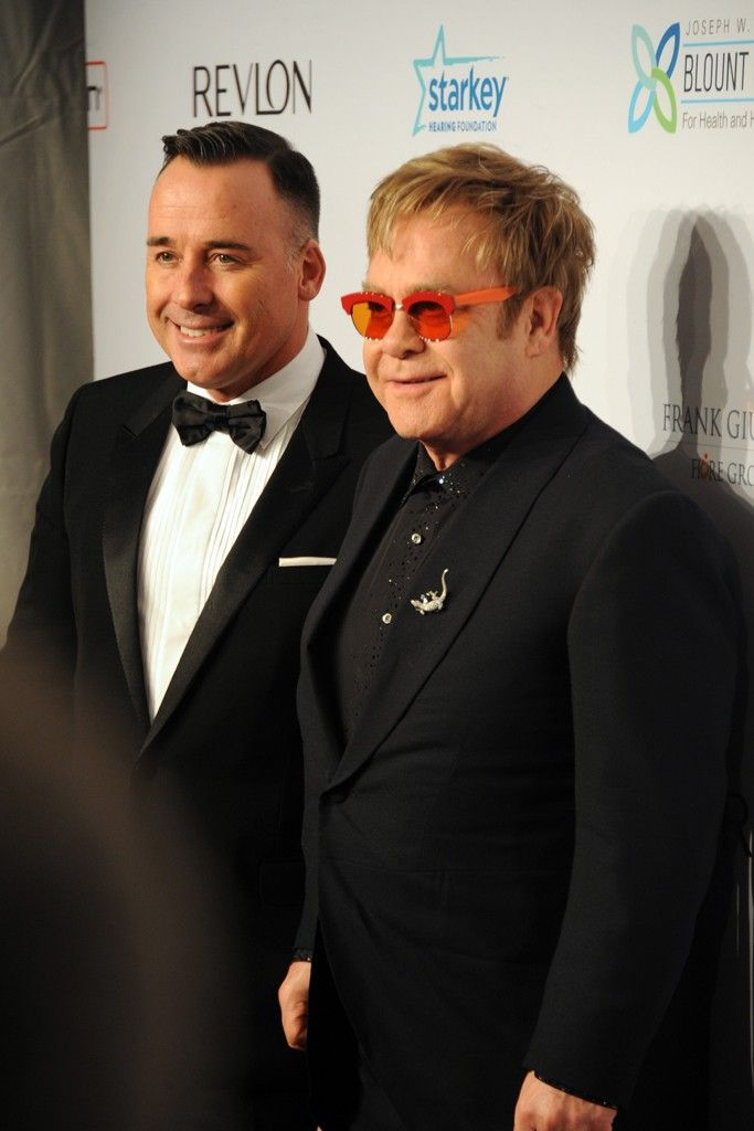 David Furnish and Elton John [Photo by Steve Eichner]