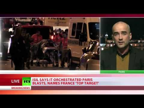 Political author Gearoid O Colmain discusses the Paris attacks with RT International - YouTube