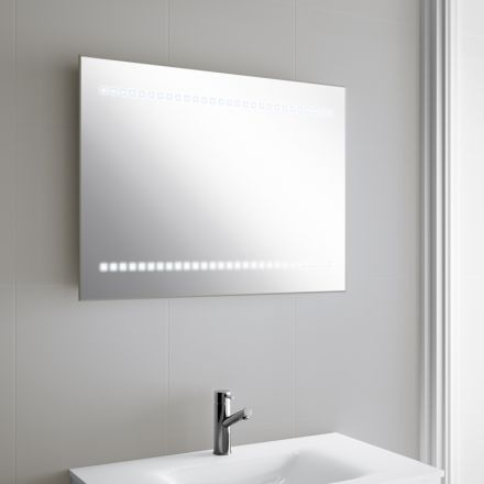 19 best Miroir de salle de bain en 80 cm images on Pinterest - küchenrückwand glas mit led