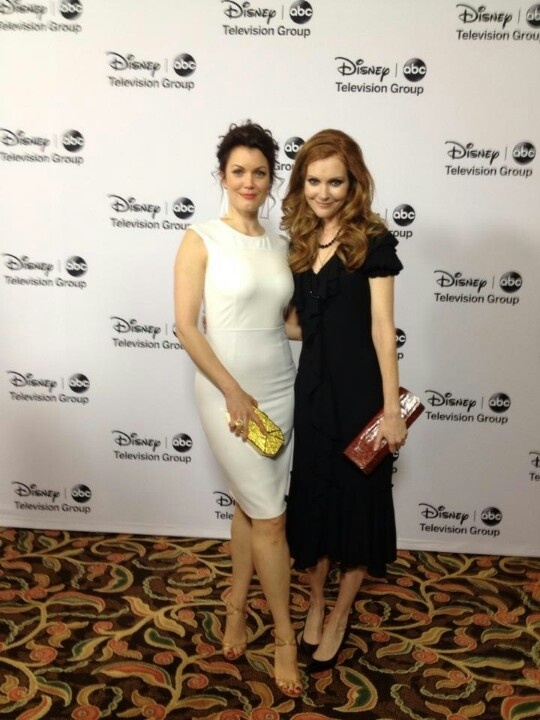 Bellamy Young & Darby Stanchfield