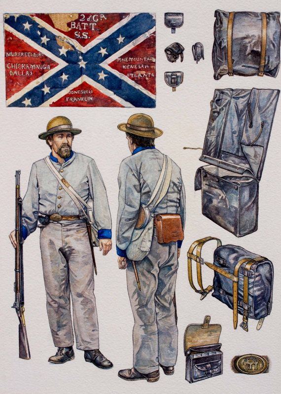 Confederate Sharpshooters of the American Civil by stephengwalsh, $830.00