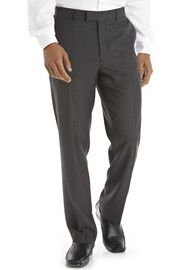 TESCO F&F Charcoal Tailored Fit Suit Trousers