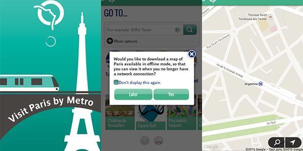 Aplicaciones indispensables para tu celular si vas a visitar paris…