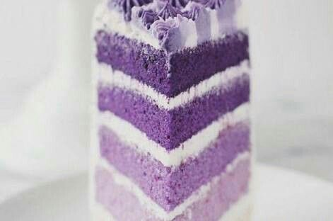 Ana's purple cake