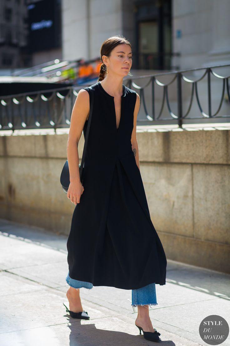New York SS 2017 Street Style: Annina Mislin