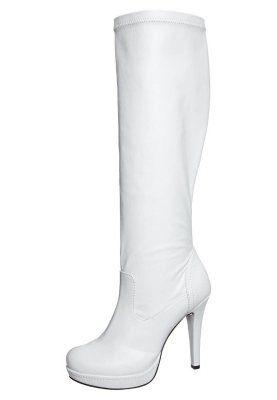 High Heel Stiefel - weiß