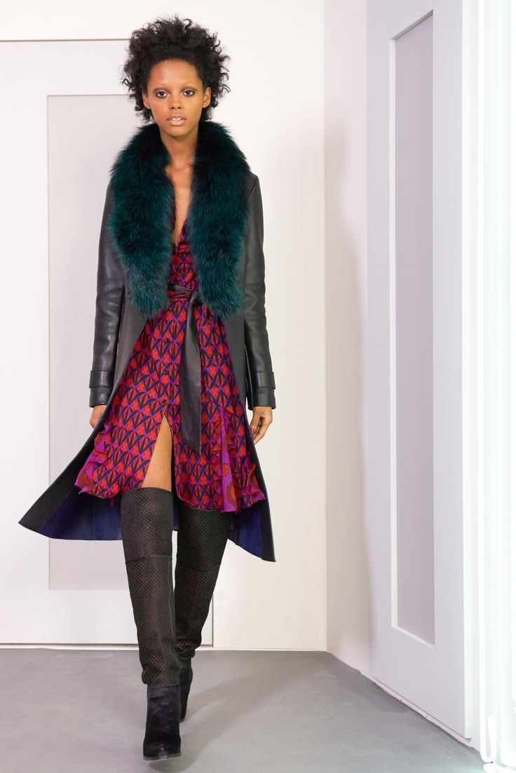 See the complete Diane von Furstenberg Fall 2016 Ready-to-Wear collection.