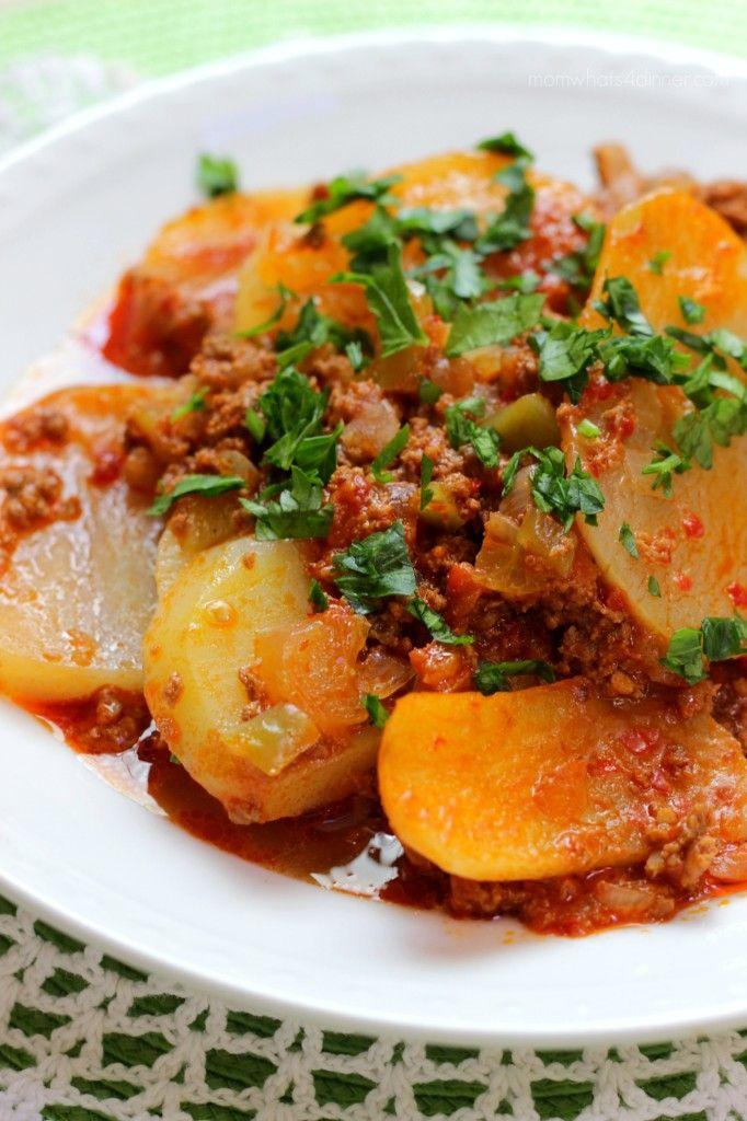 Potato Stove Top Casserole