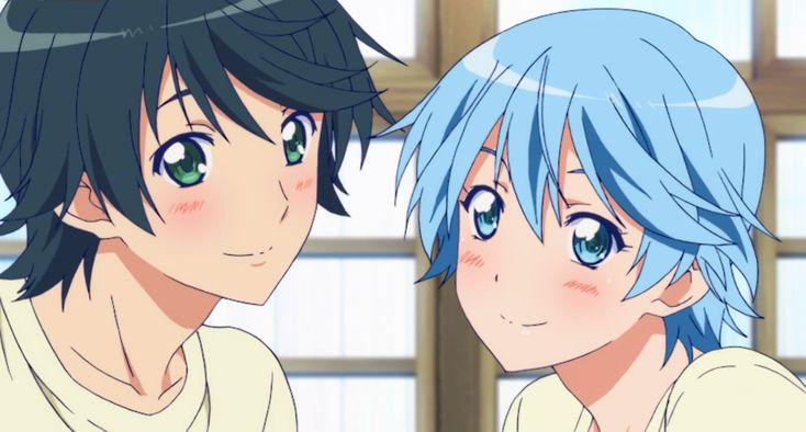 Yuu Haruna and Fuuka Akitsuki <3 | Please Follow Me On Pinterest As NekoSan! Im The One Who Submits These Images! Ty <3