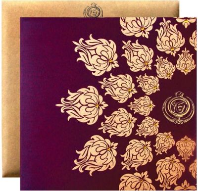This politely designed and it is made from finest quality by Shubhankar #Wedding Invitations.