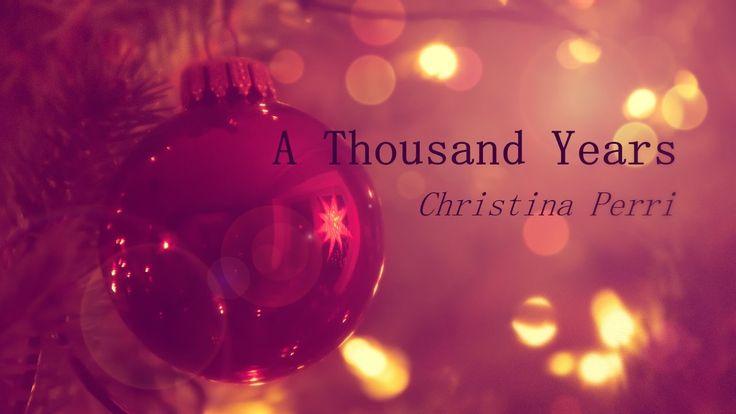 Christina Perri - A Thousand Years ❄Christmas Edition❄