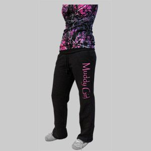 Muddy Girl Sweat Pants...I want the pants and the shirt! I love this!!!