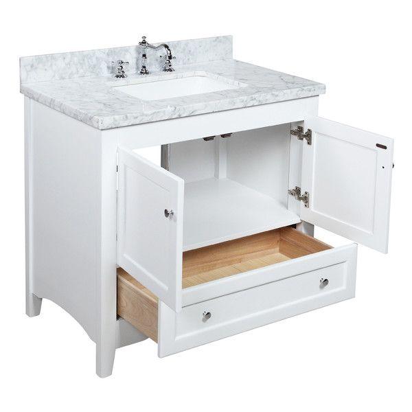 Photographic Gallery Hattie Single Bathroom Vanity by Kitchen Bath Collection