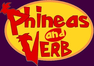 Phineas and VERB! An irregular verb card game starring our favorite Phineas