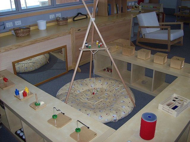 An Infant Toddler classroom and a ton of photos of Montessori materials