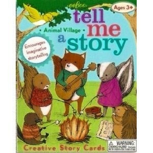 Tell Me a Story - Animal Village: Toys & Games; An imaginative pre reading activity for everyone! Use the creative story cards to tell your own tale. A great gift idea or educational aid. Play and learn with your children today!