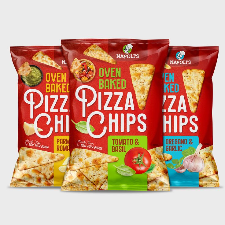 Pizza Chips Branding + Packaging - Pivot Marketing Inc.