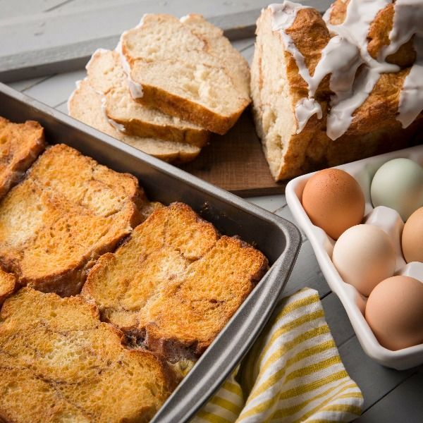 Kneaders Overnight French Toast Recipe: The best French Toast you'll ever eat! | Mile High Mamas #FrenchToast #breakfast