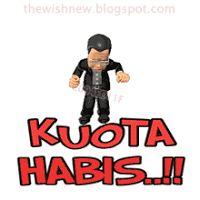 DP BBM Animasi Terbaru Versi Photoshop : Dp BBM Kuota Habis