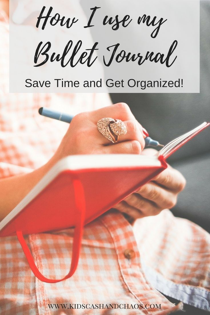 How I use my bullet journal to save time and get organized! Check out my tips, list of ideas, and ways to use a bujo.