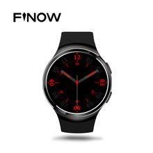Finow X3 Плюс K9 Bluetooth Smart Watch Android 5.1 MTK6580 Quad Core 1 ГБ + 8 ГБ Сердечного ритма Smartwatch Часы Для iOS Android PK KW88 //Цена: $95 руб. & Бесплатная доставка //  #computers #laptops
