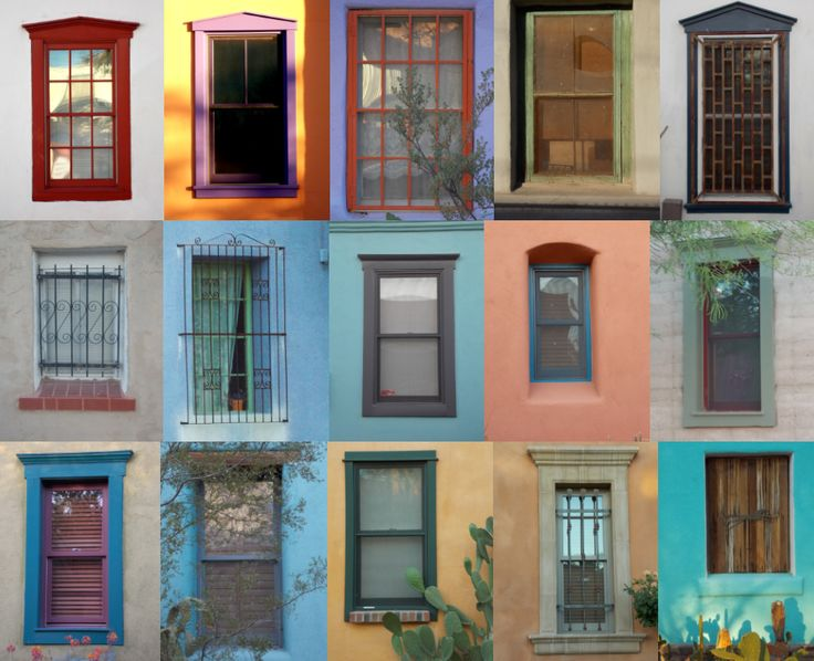 Get inspired by these barrio windows 17 paint color for Old west color palette