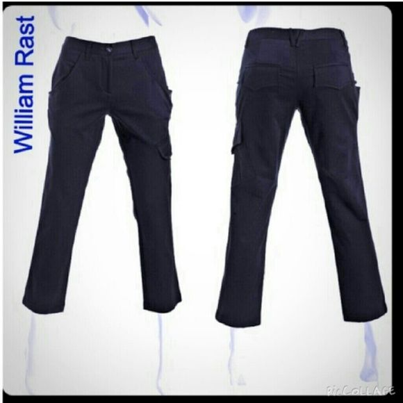 "William Rast Cargo Crop Dress Pants 🌟BRAND NEW🌟 Brand New Cargo Crop Dress Pants. Made of 50% cotton and 50% rayon. Tag size 27. Inseam is approximately 26"" long. William Rast Pants"