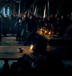 Jon Snow (6x10) King in the North!