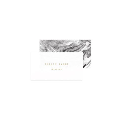 Marbled Business Cards