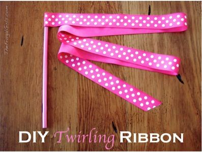 Twirling Ribbon How To Instructions