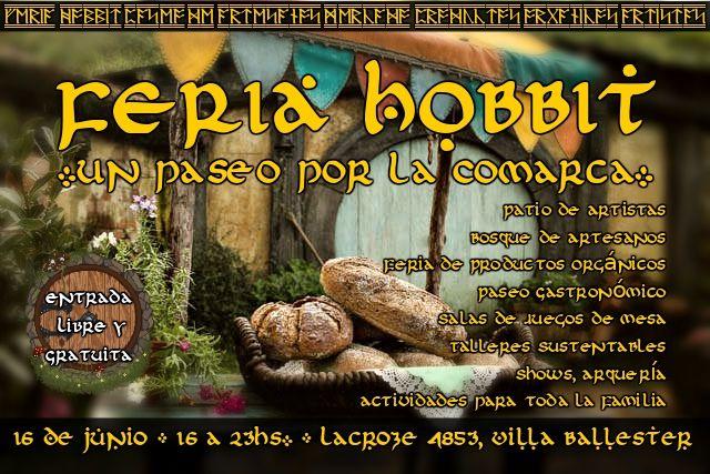 Los Esperamos Feria Hobbit Feria Segundo Desayuno Hobbit
