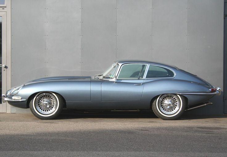 JaguarE-Type S1 3,8l Coupé Opalescent silver blue
