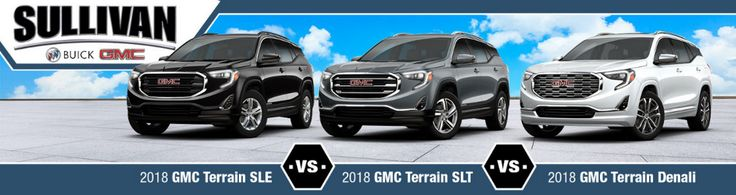 Check out a luxury SUV few can compete with! Click to see how the 2018 GMC Terrain trims compete with each other! 👍