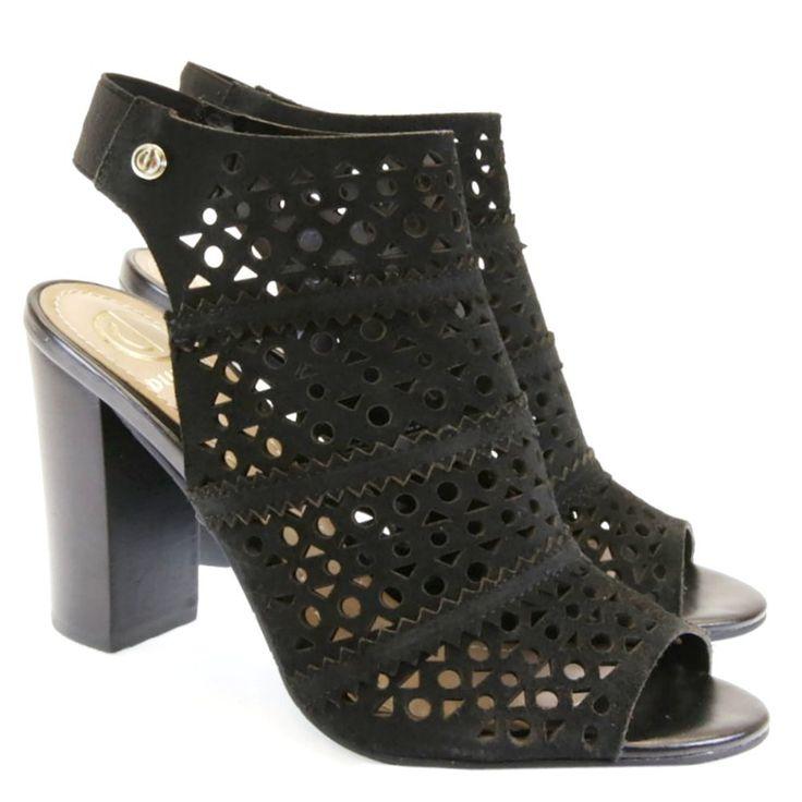 Sandália Preta 4113139 Dumond by Moselle   Moselle sapatos finos femininos! Moselle sua boutique online.