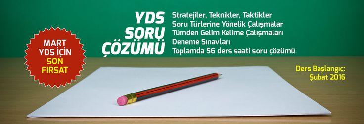 YDS Soru Çözümü