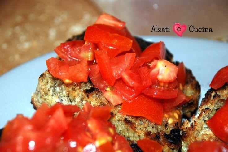 Bruschetta al pomodoro alla maniera di chef Gordon Ramsay