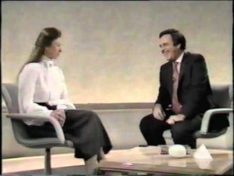 youtube:  Princess Anne with Terry Wogan (part one)-Australian interview with Princess Anne 1984 or 1985