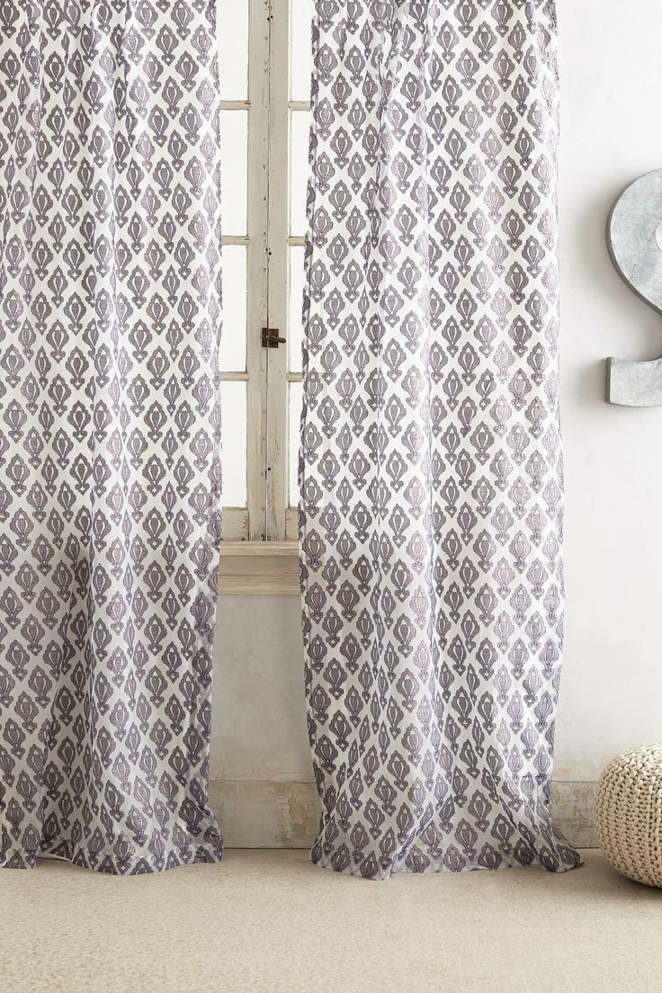 Shimmering Jacquard Curtain