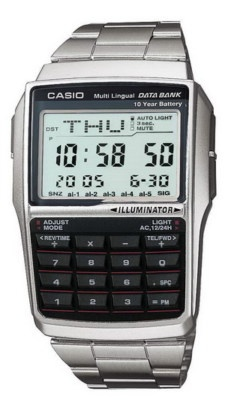 casio telememo data bank watch