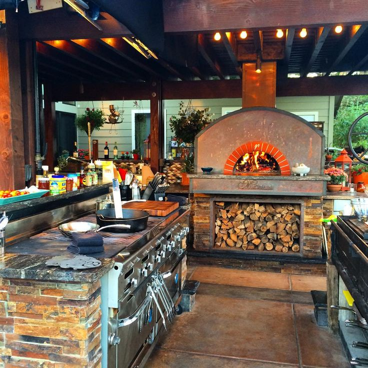 5 Perfectly Amazing Outdoor Kitchen Layout Ideas: Guy Fieri Outdoor Kitchen, See This Instagram Photo By