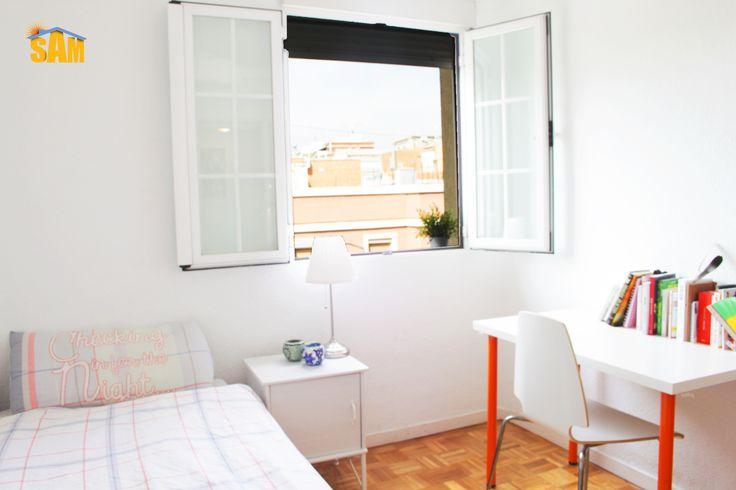 #Shared #apartment in Plaza de Bami // #Piso #compartido en Plaza de Bami #SAM #student #accommodation #Madrid #alojamiento #estudiante #single #bedroom